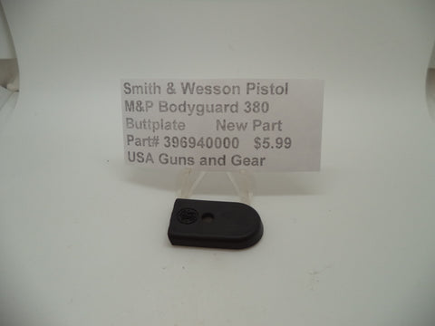 396940000 Smith & Wesson M&P Bodyguard 380 Pistol Buttplate New