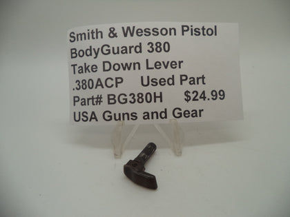 BG380H Smith & Wesson Bodyguard 380 Take Down Lever Used .380ACP