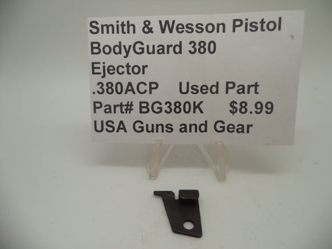 BG380K Smith & Wesson Pistol Bodyguard 380 Ejector Used .380ACP