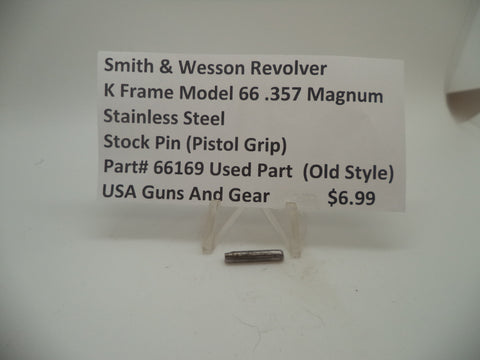 66169 Smith & Wesson K Frame Model 66 Stock Pin (Pistol Grip) Used .357 Magnum