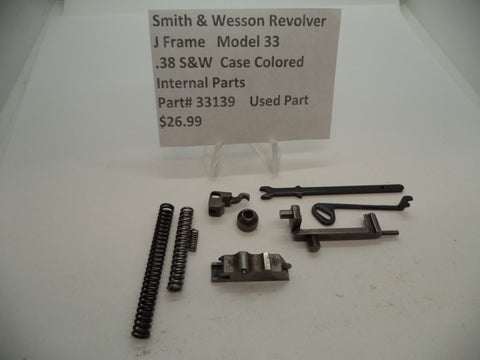 33139 Smith and Wesson J Frame Model 33 Internal Parts .38 Special Used Part
