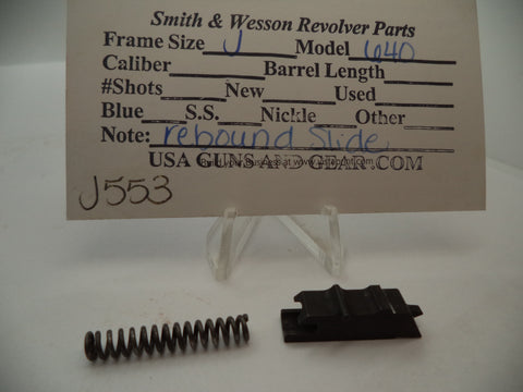 J553 Smith and Wesson J Frame Model 640 Rebound Slide .38 Special Used Part
