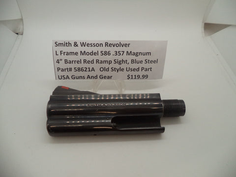 "58621A Smith & Wesson L Frame Model 586 4"" Barrel .357 mag Used Part"
