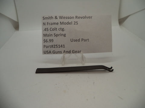 25141 Smith & Wesson N Frame Model 25 Used Main Spring .45 Colt ctg.