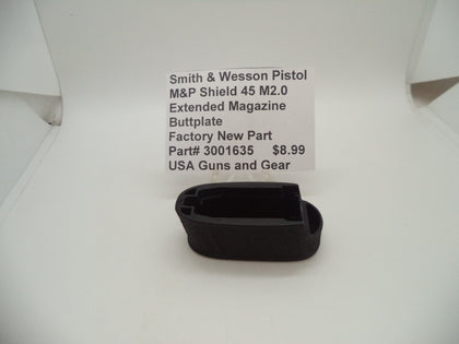 3001635 Smith & Wesson Pistol M&P Shield 45 M2.0 Extended Magazine Buttplate
