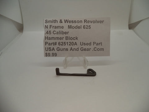 625120A Smith & Wesson N Frame Model 625 Used Hammer Block .45 Caliber