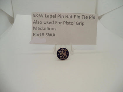 150000409 Smith & Wesson Lapel Pin/Hat Pin/Tie Pin/Or for Pistol Grips