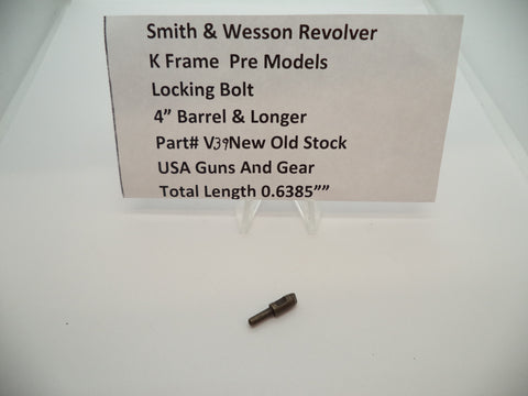 "V39 Smith & Wesson K Frame Pre Model Locking Bolt for 2"" Barrel & Longer New"