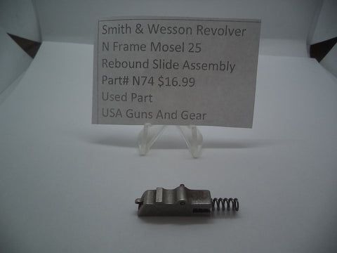 N74 Smith & Wesson Used N Frame Model 25 rebound slide assembly -                                USA Guns And Gear-Your Favorite Gun Parts Store
