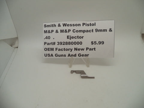 392880000 Smith & Wesson Pistol M&P Ejector OEM Factory New Part