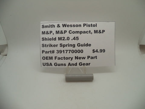 391770000 Smith & Wesson Pistol M&P Striker Spring Guide OEM Factory New Part