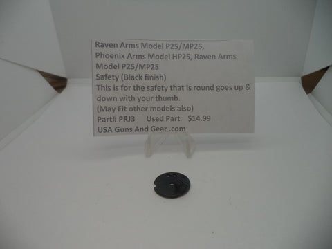 Raven Arms Model P25/MP25 Used Part #PRJ3