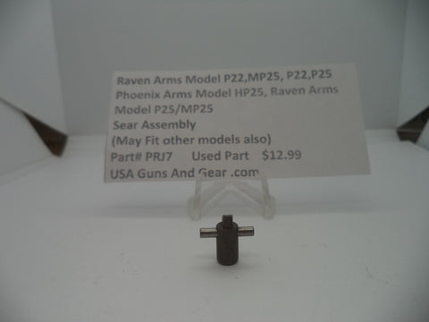 Raven Arms Model P22, MP25, P22, P25  Sear Assembly Used Part #PRJ7