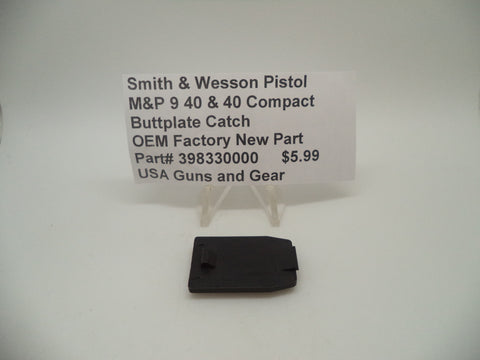 398330000 Smith & Wesson Pistol M&P Buttplate Catch OEM Factory New