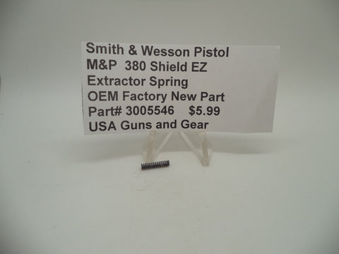3005546 Smith & Wesson Pistol M&P 380 EZ Shield Extractor Spring OEM Factory New