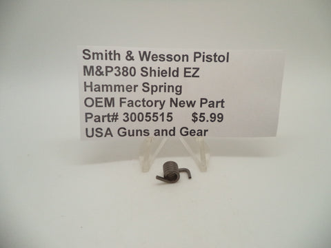 3005515 Smith & Wesson Pistol M&P 380 Shield EZ Hammer Spring New Part