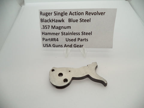 R4 Ruger Single Action Revolver Black Hawk Hammer Used Part .357 Magnum
