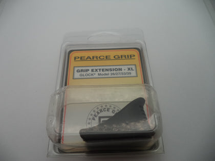 Pearce Grip Glock Sub Compact Plus Extension XL New Part #PG-39