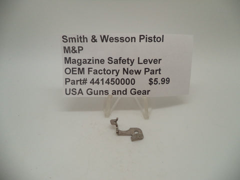 441450000 Smith & Wesson Pistol M&P Magazine Safety Lever Factory New Part