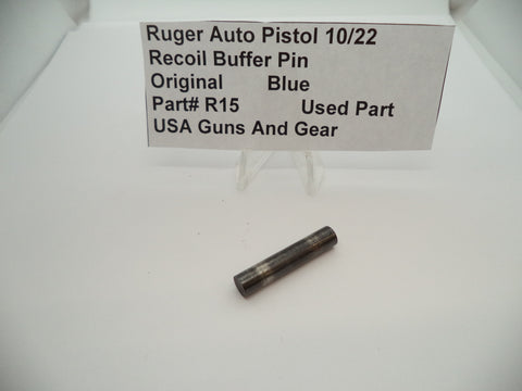 R15 Ruger Auto Pistol 10/22 Original Recoil Buffer Pin Used Part