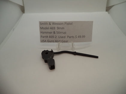 469-2 Smith & Wesson Pistol Model 469 Used Hammer & Stirrup 9mm