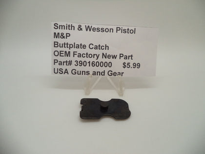 390160000 Smith & Wesson Pistol M&P Buttplate Catch OEM Factory New Part
