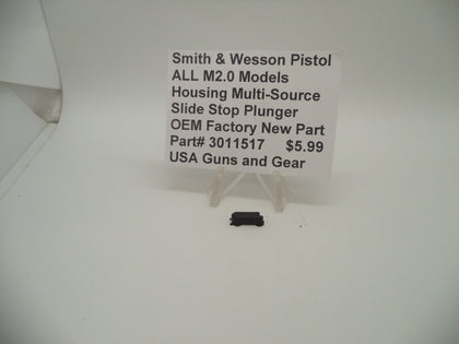 3011517 Smith & Wesson ALL M2.0 Models Housing Multi-Source Slide Stop Plunger