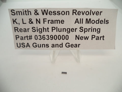 USA Guns And Gear - USA Guns And Gear Rear Sight Plunger Spring - Gun Parts Smith & Wesson - Smith & Wesson