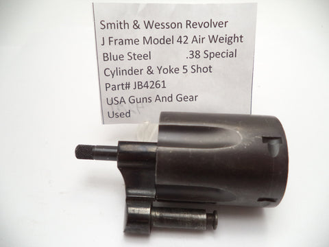 JB4261 Smith & Wesson K Frame Model 42 Air Weight Cylinder Assembly .38 Special