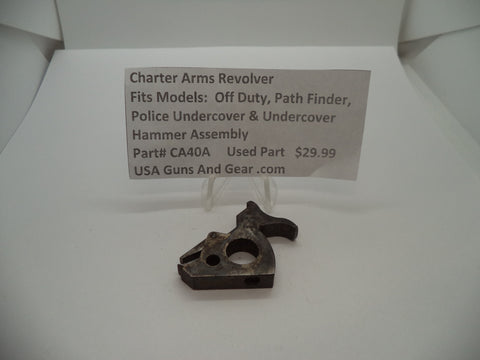 CA40A Charter Arms Revolver Fits Several Models Used Hammer Assembly
