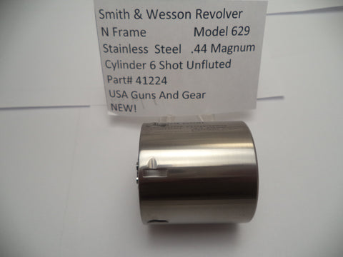 412240000 Smith & Wesson Unfluted Cylinder N Frame Model 629 .44 Magnum
