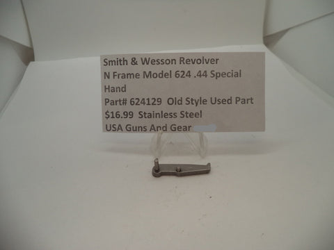 624129 Smith & Wesson N Frame Model 624 Used Hand .44 Special