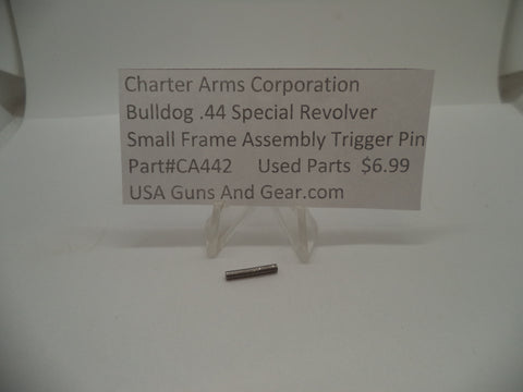 CA442 Charter Arms Revolver Bulldog Small Frame Assembly Trigger Pin .44 Special