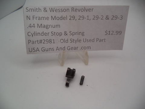MP9 Smith & Wesson K Frame Pre Model 10 M&P Used Main Spring
