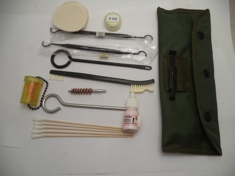 GC12 40 Piece Gun Cleaning Kit for Pistols & Revolvers