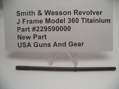 229590000 Smith & Wesson J Frame Model 360, Titanium Center Pin New