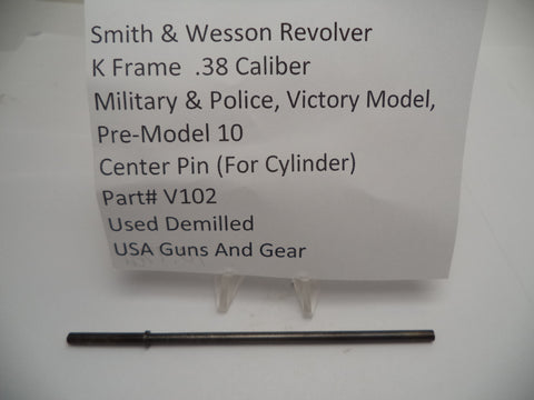 V102 Smith & Wesson K Frame Military & Police Victory Model Pre-Model 10 Center Pin