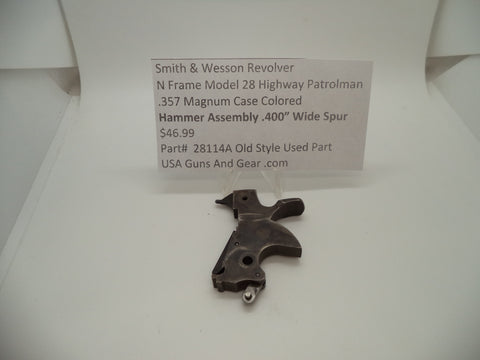 "28114A Smith & Wesson N Frame Model 28 .400"" Hammer Assembly .357 Magnum"