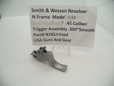 "N185A Smith & Wesson N Frame Model 628 .300"" Smooth Trigger Used .357 Magnum"