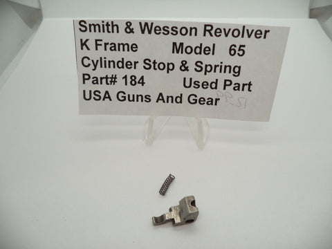 USA Guns And Gear - USA Guns And Gear Cylinder Stop & Spring - Gun Parts Smith & Wesson - Smith & Wesson