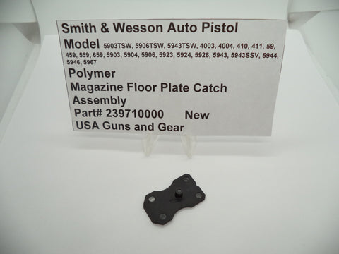 239710000 Smith & Wesson Pistol Multi Model Magazine Floor Plate Catch Polymer