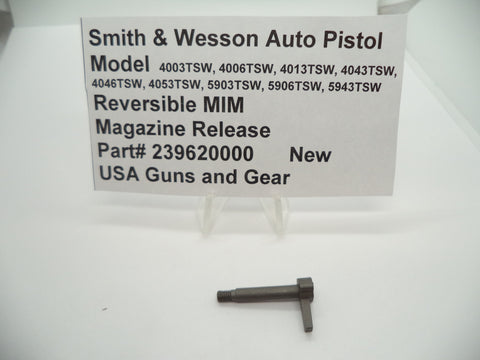 239620000 Smith & Wesson Auto Pistol Multiple Model Magazine Release New Part
