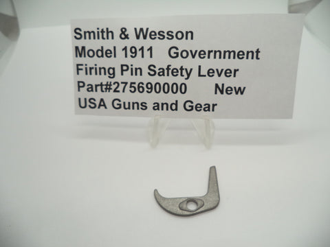 275690000 Smith & Wesson Model 1911 Government Firing Pin Spring Lever New