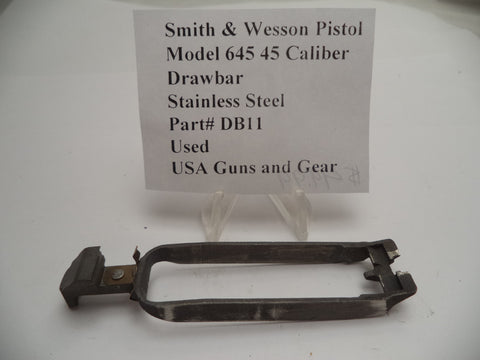 DB11 Smith & Wesson Pistol Draw Bar Used for Model 645 45 Caliber
