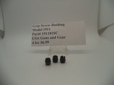 Model 1911 Pistol Grip Screw Bushing New Part #191181SC