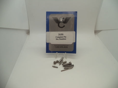 315S Wilson Combat New Model 1911 Complete Pin Set Stainless Steel