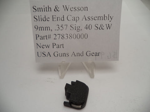 278380000 Smith and Wesson Slide End Cap Assembly for Auto Pistols
