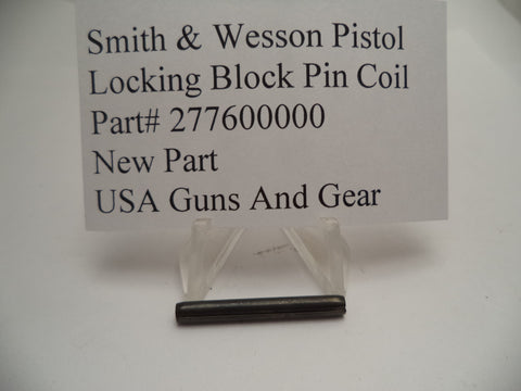 277600000 Smith and Wesson Locking Block Pin Coil for Auto Pistols