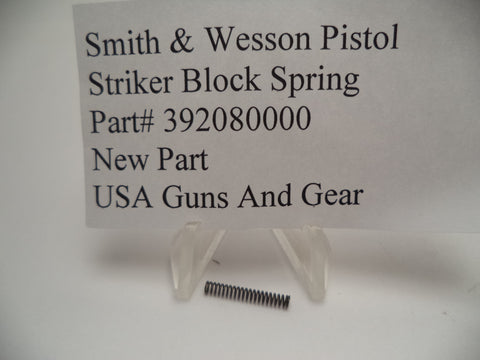 392080000 Smith and Wesson Striker Block Spring for Auto Pistols