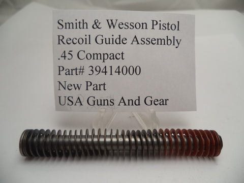 39414000 Smith and Wesson Recoil Guide Assembly for Auto Pistols .45 Compact